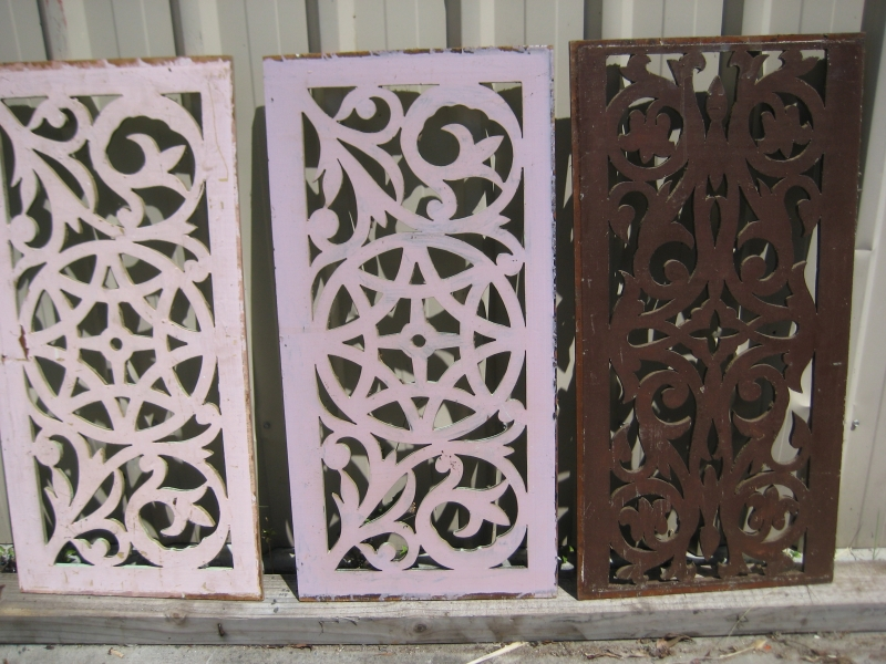 Fretworks Fanlights And Posts